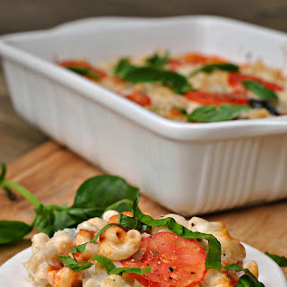 Caprese Macaroni and Cheese