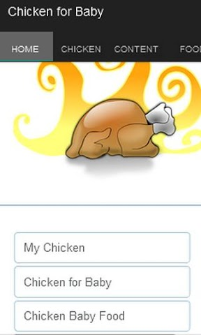 android Chicken for Baby Screenshot 0