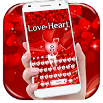 Red Love Heart Keyboard Icon
