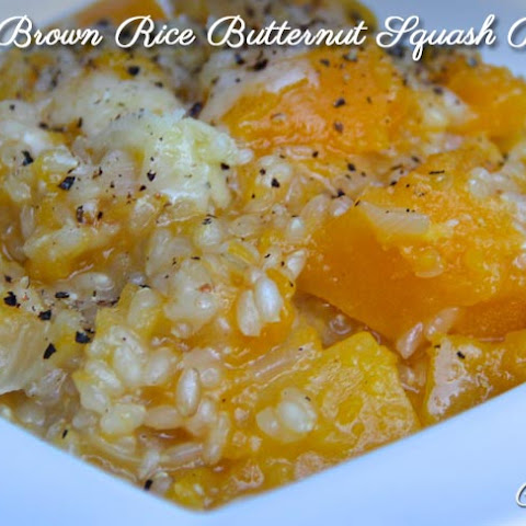 Butternut Sweet Brown Rice Risotto