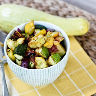 Roasted Summer Squash and Zucchini