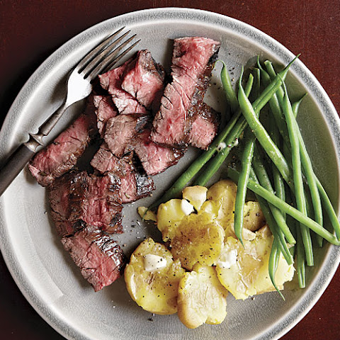 Five-Minute Marinated Skirt Steak