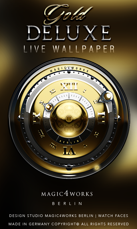 Deluxe Clock Bundle LWP Screenshot 2