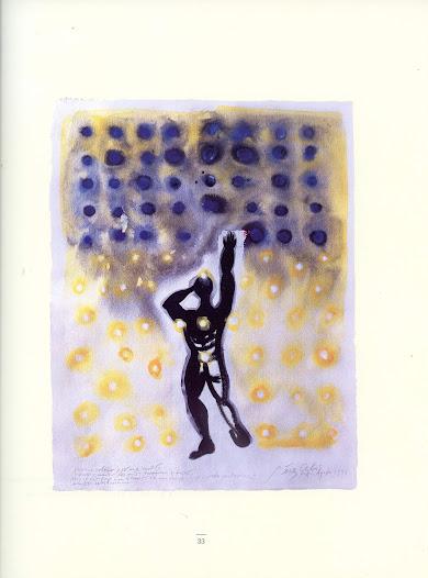 Yo me celebro Técnica mixta sobre papel 67 x 52 cm Buenos Aires 1998