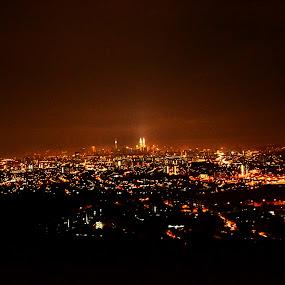 Kuala Lumpur by Hazmi Anas - Novices Only Landscapes ( lumpur, night, malaysia, kuala, kl )