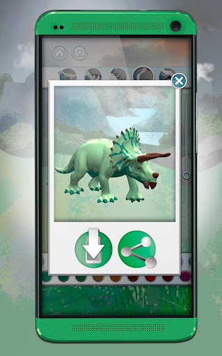 Dinosaurs 3D Coloring Book screenshot 8