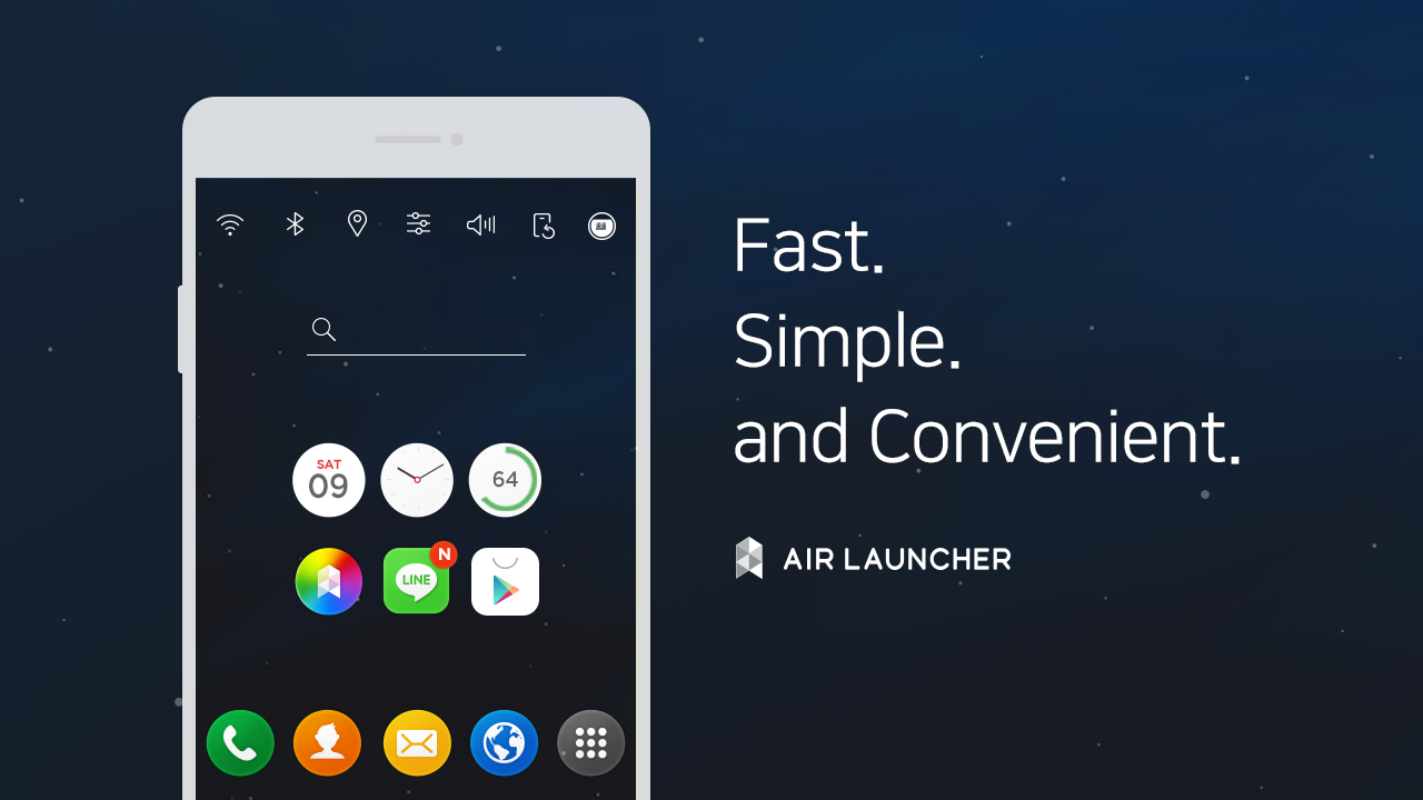 Air Launcher-Smooth Wallpapers Screenshot 6