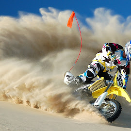 Sandbox by Alex LeBlanc - Sports & Fitness Motorsports ( motocross dunes mx  riding action )