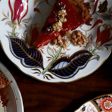 Cranberry-Glazed Pumpkin Pie