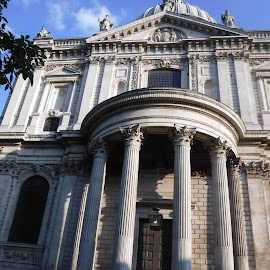 St. Pauls Cathederal by Elizabeth O - Buildings & Architecture Places of Worship