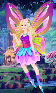 Dress Up Barbie Mariposa- screenshot thumbnail