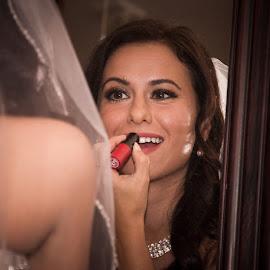 by Wayne Parrott - Wedding Getting Ready