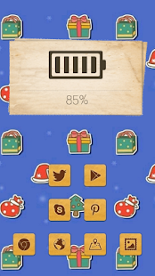 Cute Happy Christmas Theme - screenshot
