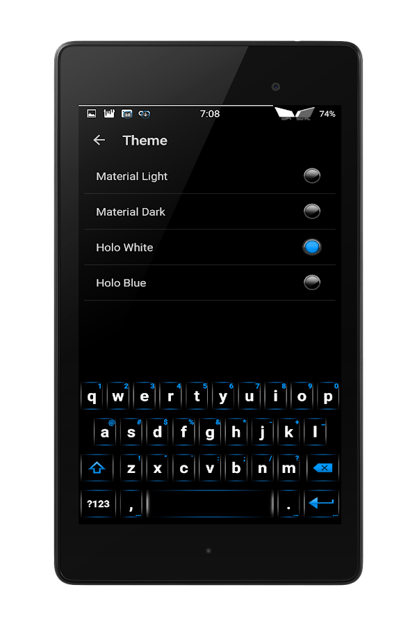 Blu XS CM12-13 Theme Screenshot 15