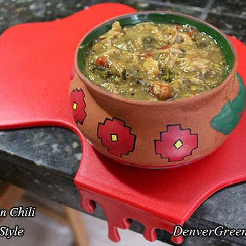 Pork Green Chili (Colorado Style)