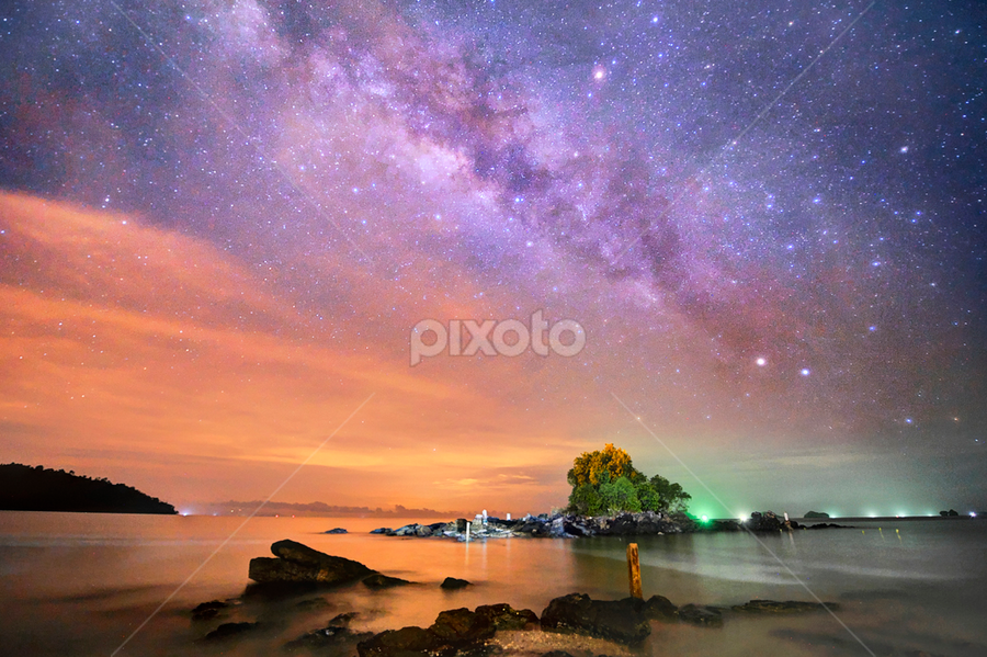 Milky Way by Chegu Diman - Landscapes Starscapes ( chegu diman, starscape )