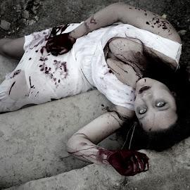 HORROR 003 by Elizabeth Liversage - Public Holidays Halloween