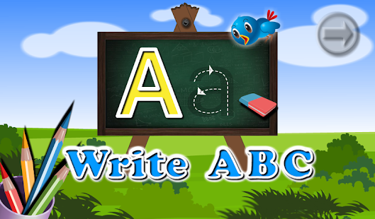 Learning TOM : Writing ABC