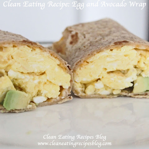 Egg and Avocado Wrap