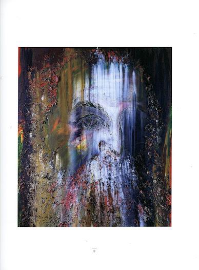 Walt Whitman Técnica mixta sobre tela 203 x 173 cm Miami 1998 Coleccion Joesef Lampe  Arizona USA