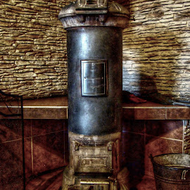 stove by Karel Šula - Novices Only Objects & Still Life