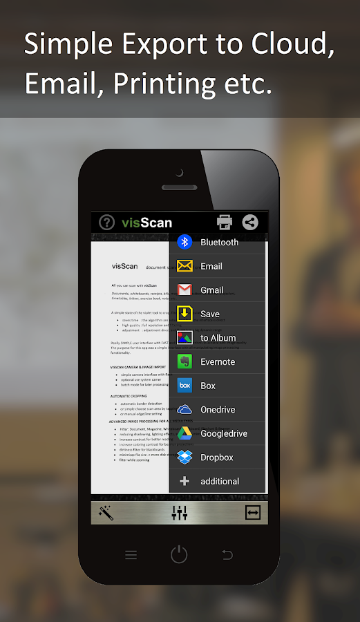 visScan - Document Scanner Screenshot 3