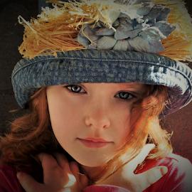 Cross My Heart by Cheryl Korotky - Babies & Children Child Portraits