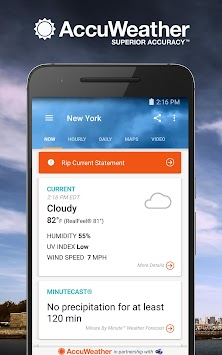 AccuWeather Platinum APK screenshot thumbnail 1