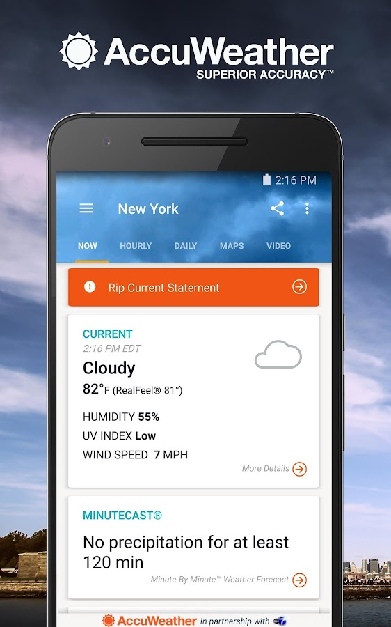 AccuWeather Platinum Screenshot 0