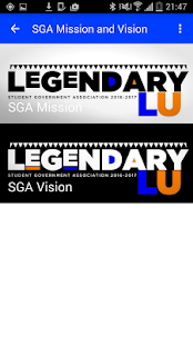 Lincoln University SGA - screenshot