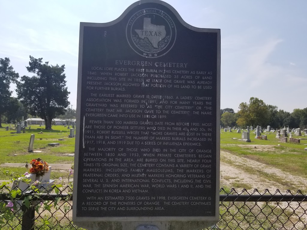 Local lore places the first burial in this cemetery as early as 1840. When Robert Jackson purchased 35 acres of land including this site in 1853, at least one grave was already present. Jackson ...