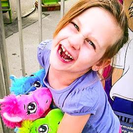 At the Fair! by Natasha Lena - Babies & Children Children Candids ( pony, rides, toys, fun, outside )