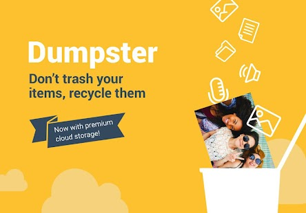 Dumpster: Undelete & Restore Pictures and Videos Screenshot