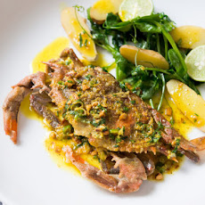 Soft-Shell Crabs With Curry Butter