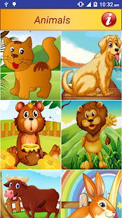 Animals Pictures Game for Kids - screenshot