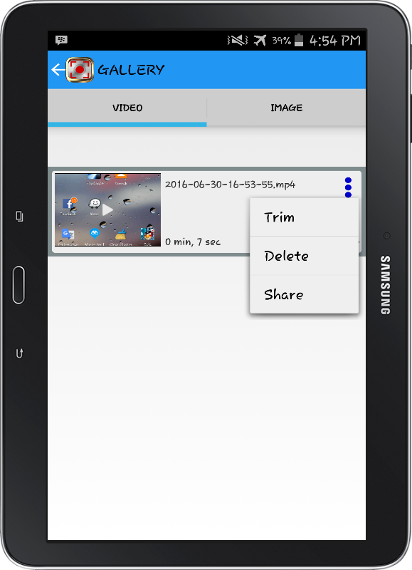 NO ROOT Screen Recorder PRO Screenshot 6