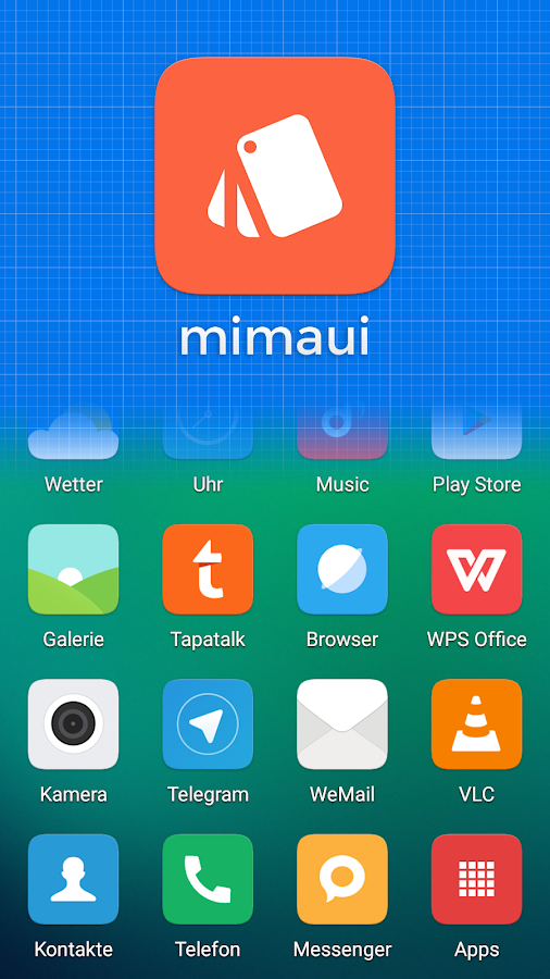 mimaui - MIUI style icon pack Screenshot 0