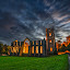 Floodlit Fountains Abbey by Graham Kidd - Buildings & Architecture Public & Historical ( derelict, night, abbey )