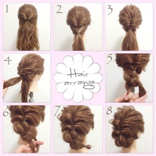 Step by Step Hairstyle - screenshot