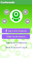 Screenshot of Conferendo Free Videochat