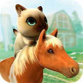 Game Pony and Kitties Pet Farm apk for kindle fire