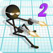 Gun Fu: Stickman 2 APK for Bluestacks