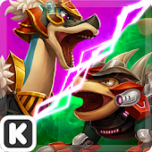 Dinowar: Brachio vs Ankylo APK for Lenovo