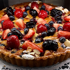 Berry Tart by Lope Piamonte Jr - Food & Drink Cooking & Baking