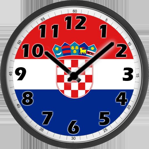 Android aplikacija Croatia Clock na Android Srbija