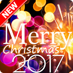 Merry Christmas Greeting and Happy New Year2018 Icon