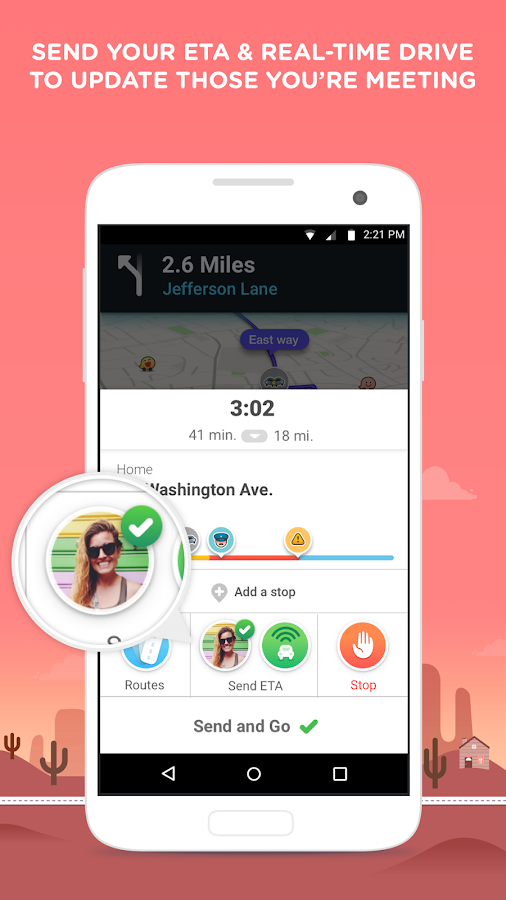 Waze - GPS, Maps & Traffic Screenshot 3