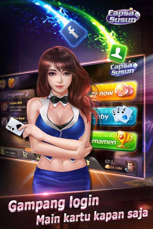 Capsa Susun(Free Poker Casino) Screenshot 5