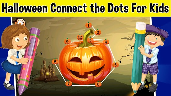 Halloween Connect the Dots - screenshot