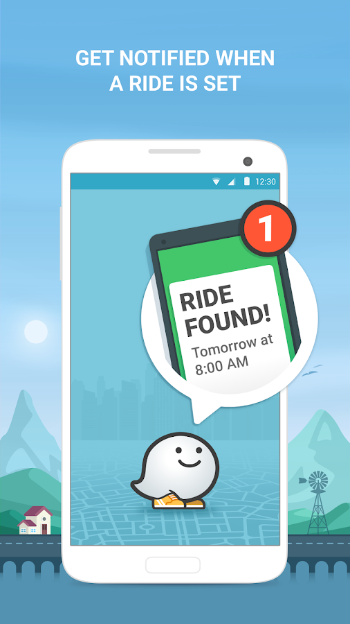 Waze Rider - Get a Ride Screenshot 1